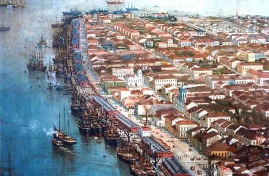 Santos em 1910