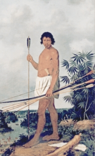 Índio Colonizado - Albert Eckhout - Museu Nacional de Copenhague