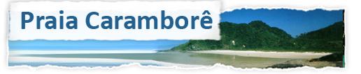 Praia Caramborê